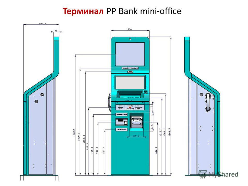 Терминал PP Bank mini-office