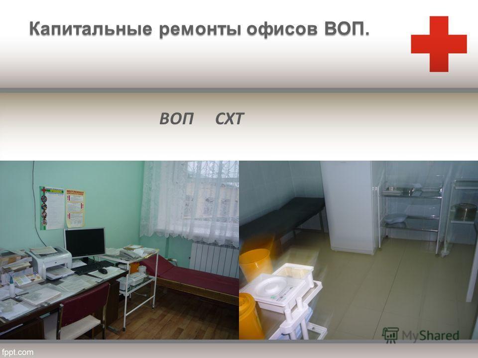 ВОП СХТ Капитальные ремонты офисов ВОП.