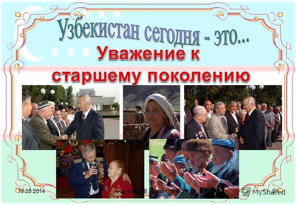 19.05.2014Андреева Г.В., школа 4721