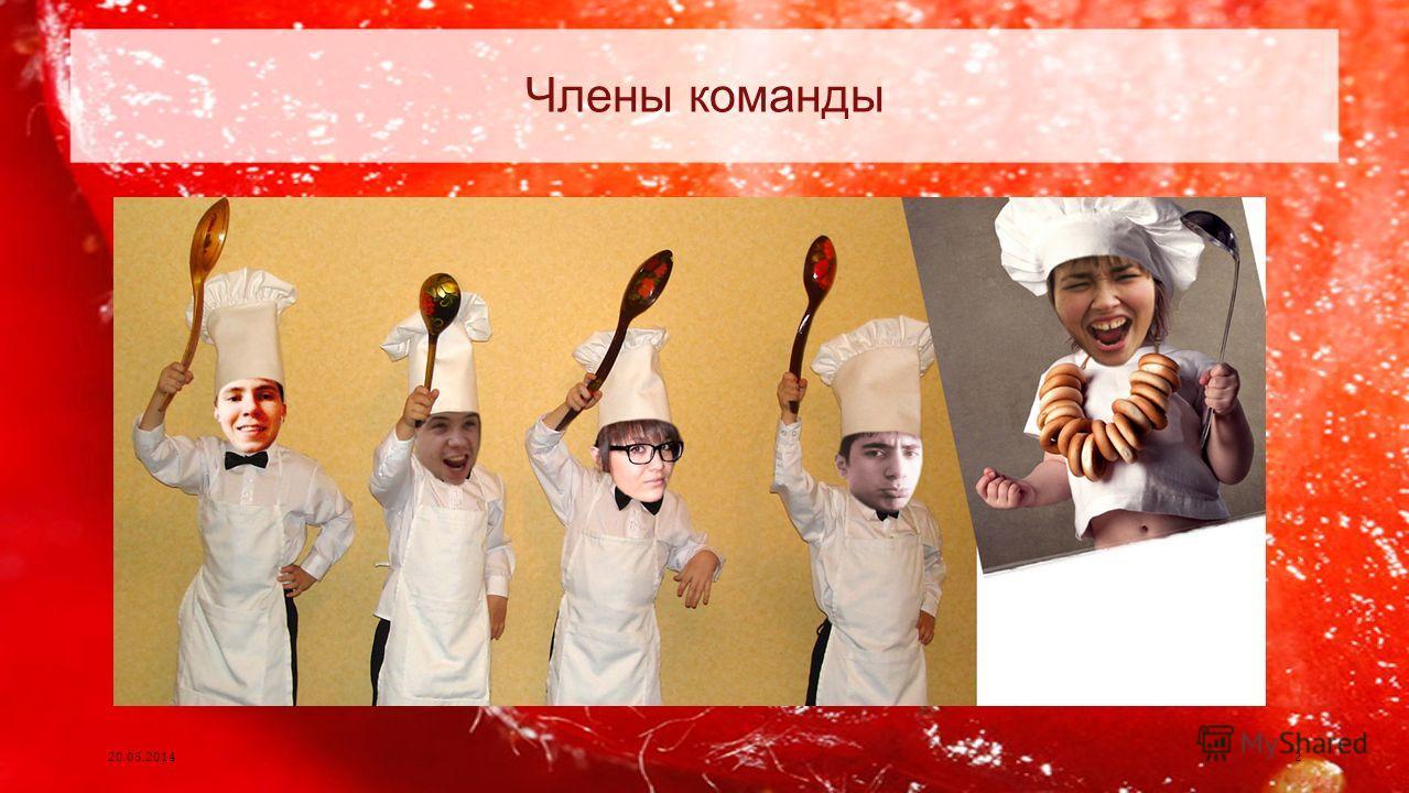 Члены команды 20.05.20142