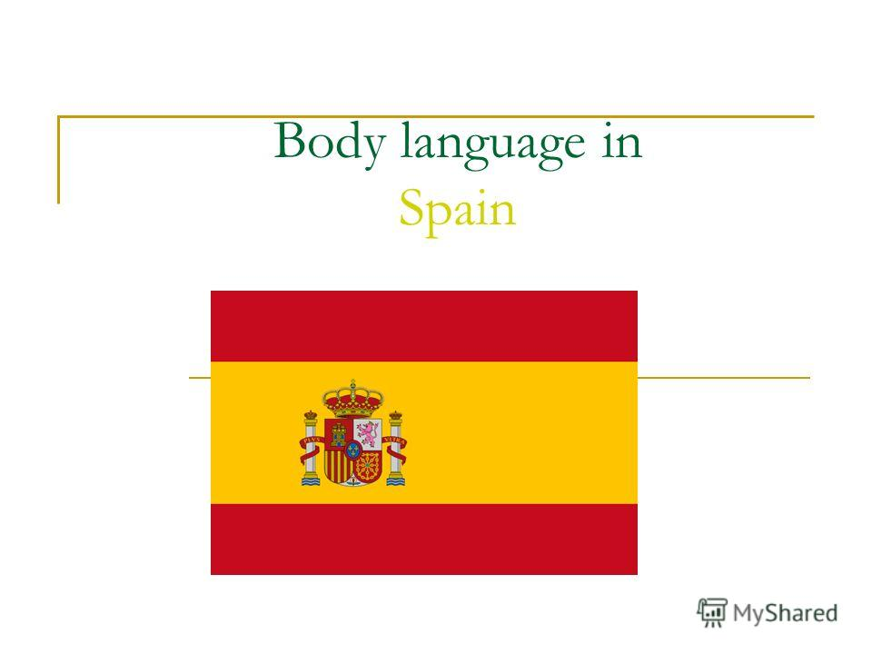 Body language in Spain
