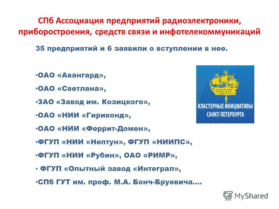 ОАО «Авангард», ОАО «Светлана»