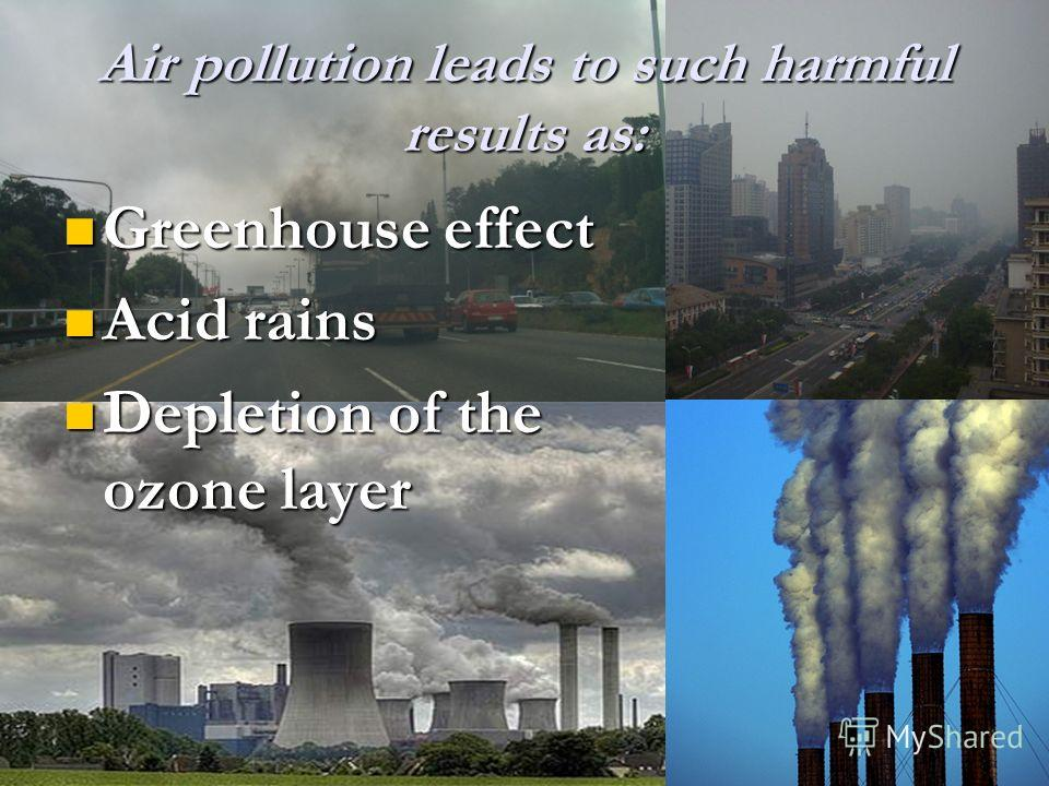 pollution in the world essay