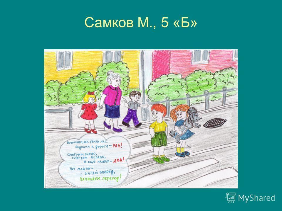 Самков М., 5 «Б»