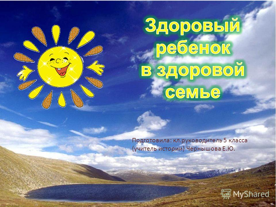 Подготовила: кл.руководитель 5 класса (учитель истории) Чернышова Е.Ю.
