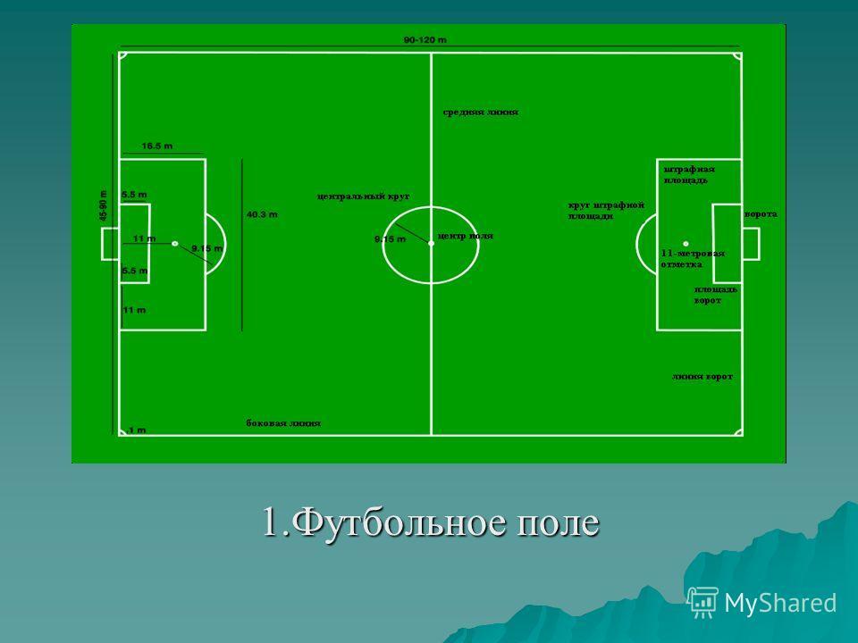 1.Футбольное поле