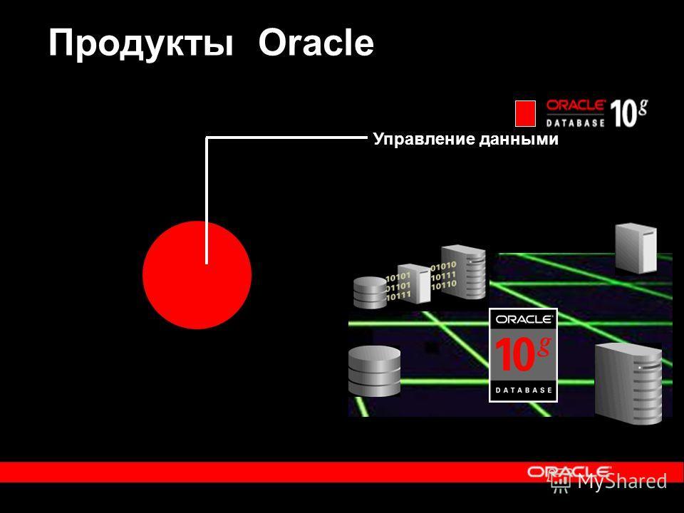 Продукты Oracle Управление данными