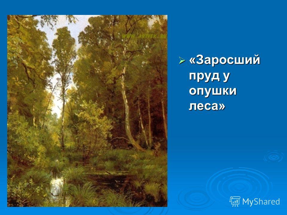 «Заросший пруд у опушки леса» «Заросший пруд у опушки леса»