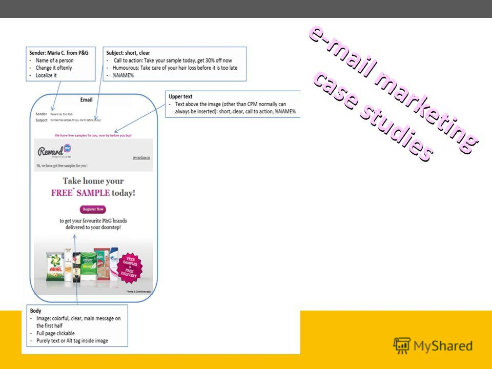 e-mail marketing case studies