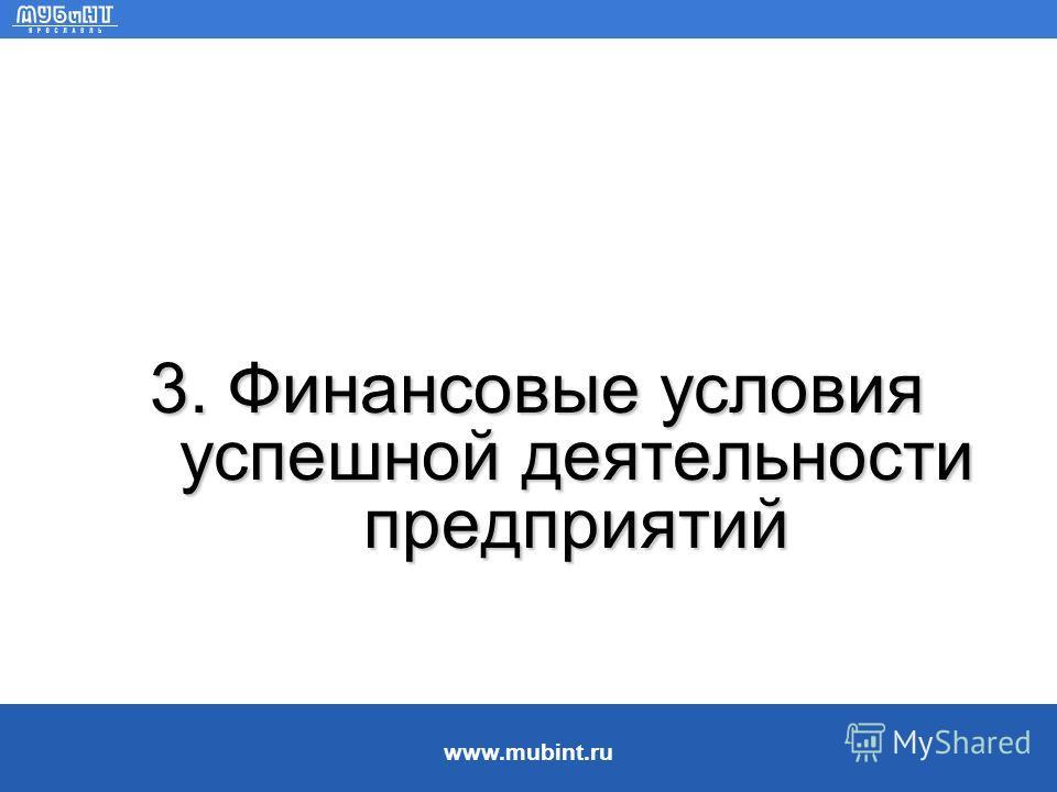 www.mubint.ru Использование денежных средств Пути использования свободных денежных ресурсов: Парадокс денег: как только предприятие увеличивает денежные средства, оно должно пускать их в оборот. Реинвестировать в предприятие для повышения базового по