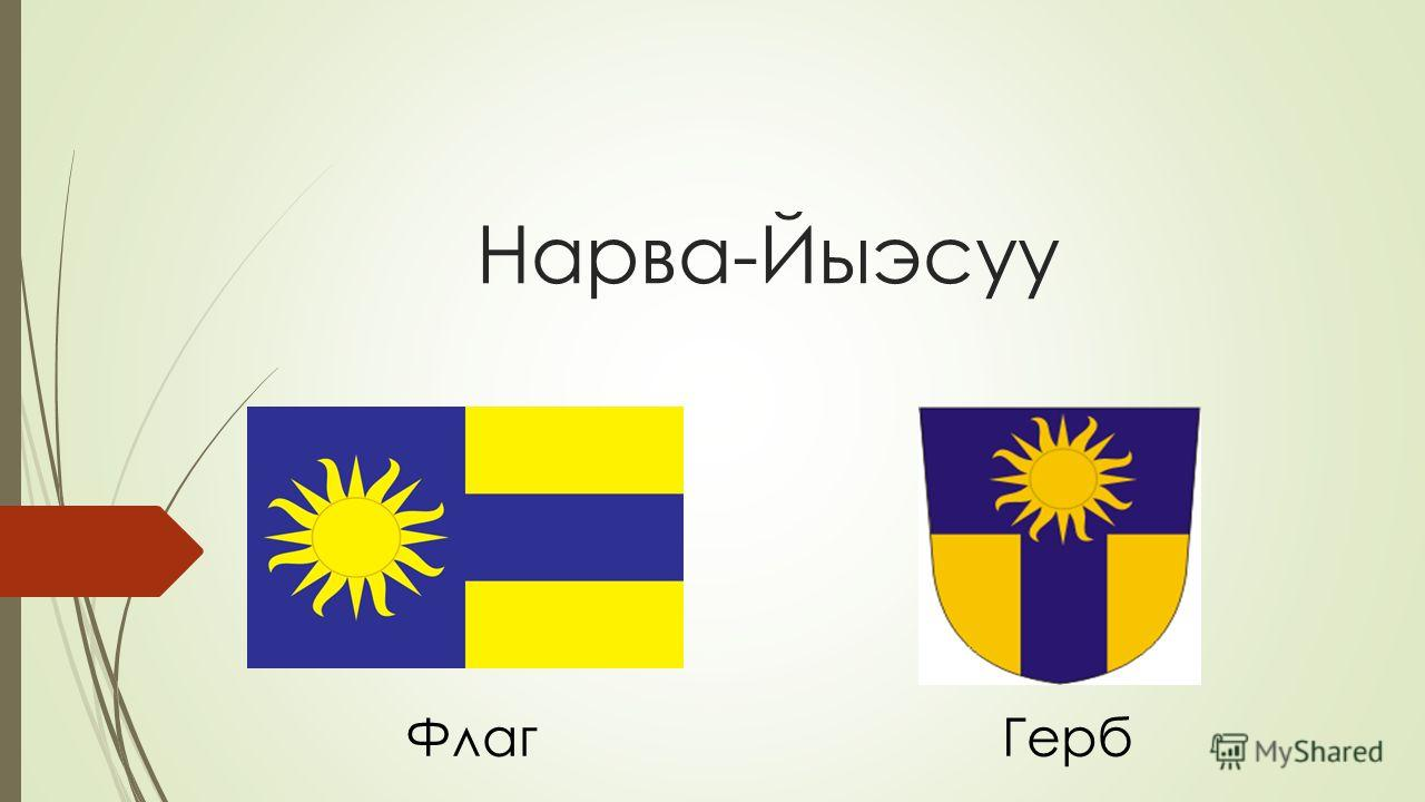 Нарва-Йыэсуу ФлагГерб