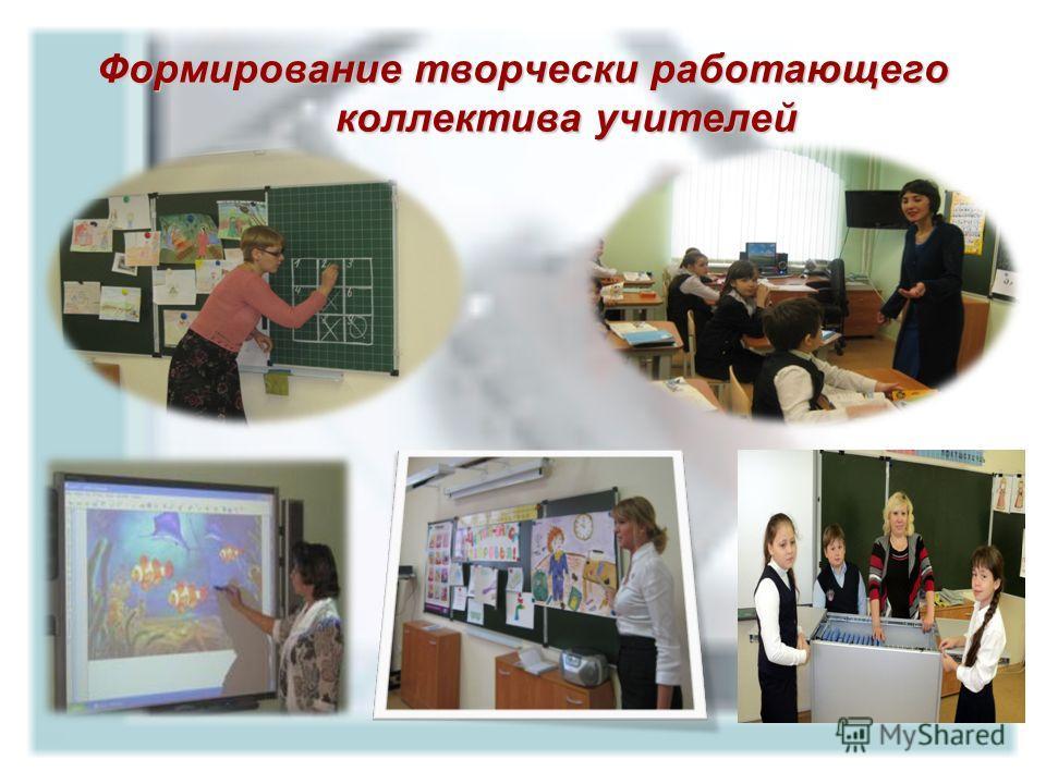 Формирование творчески работающего коллектива учителей