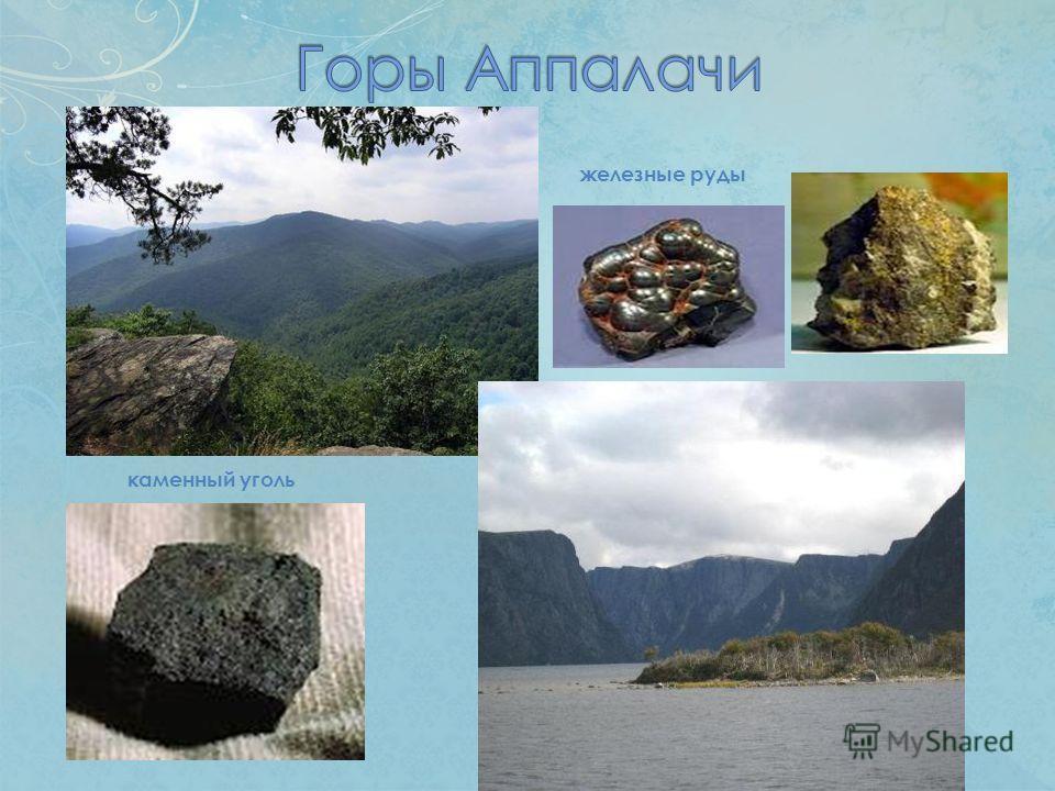 каменный уголь железные руды