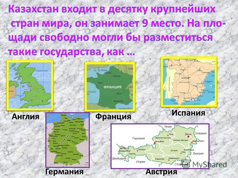 Англия Франция Испания Германия Австрия