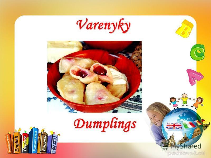 Varenyky Dumplings