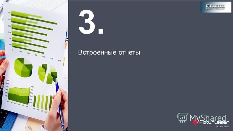 3. Встроенные отчеты