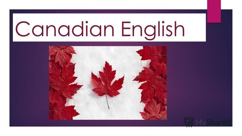 Canadian English