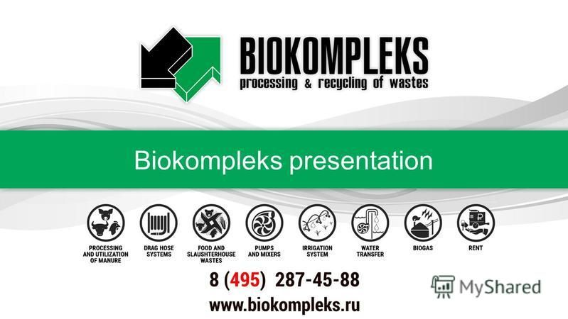 Biokompleks presentation