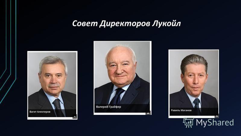 Совет Директоров Лукойл
