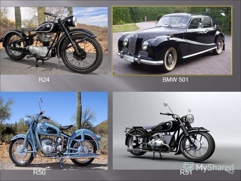 Вторая Мировая война заставляет компанию переключиться на производство авиационных двигателей. BMW удается первой в мире начать производство реактивных двигателей. Но с завершением войны фирма оказывается на грани краха, так как часть ее заводов оказ