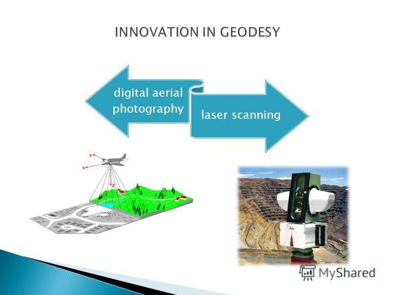 digital aerial photography laser scanning