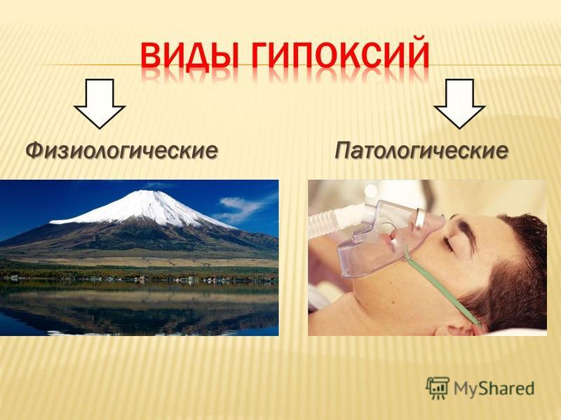 Физиологические Патологические