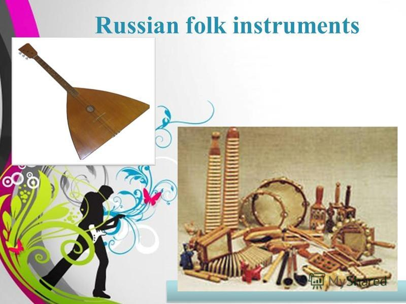 Free Powerpoint TemplatesPage 1 Russian folk instruments