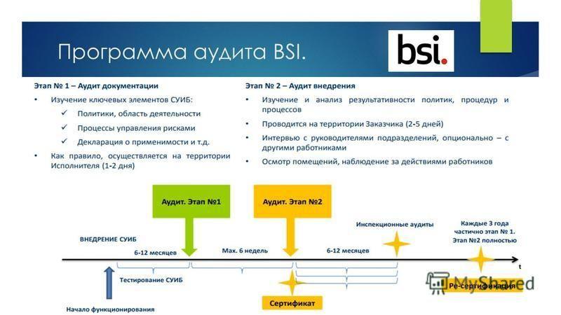 Программа аудита BSI.