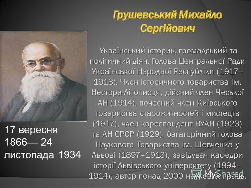 17 вересня 1866 24 листопада 1934