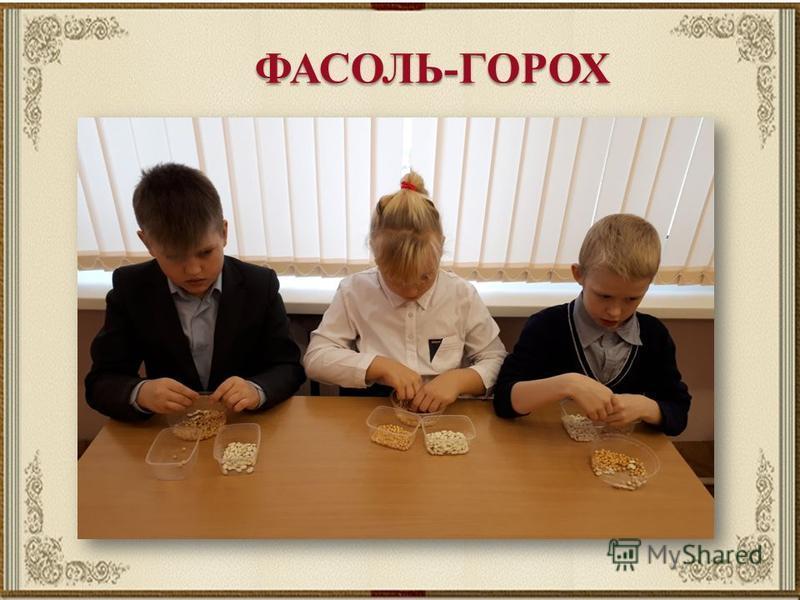 ФАСОЛЬ-ГОРОХ