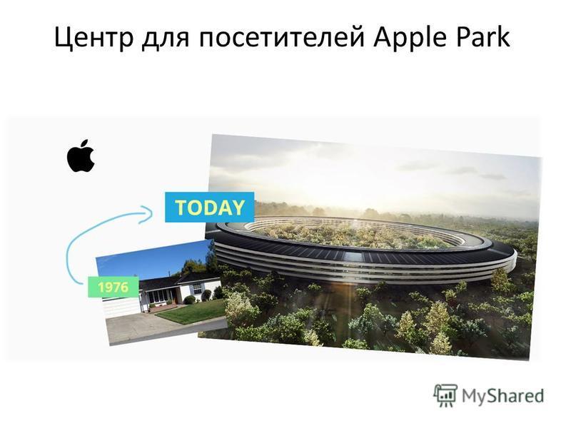 Центр для посетителей Apple Park