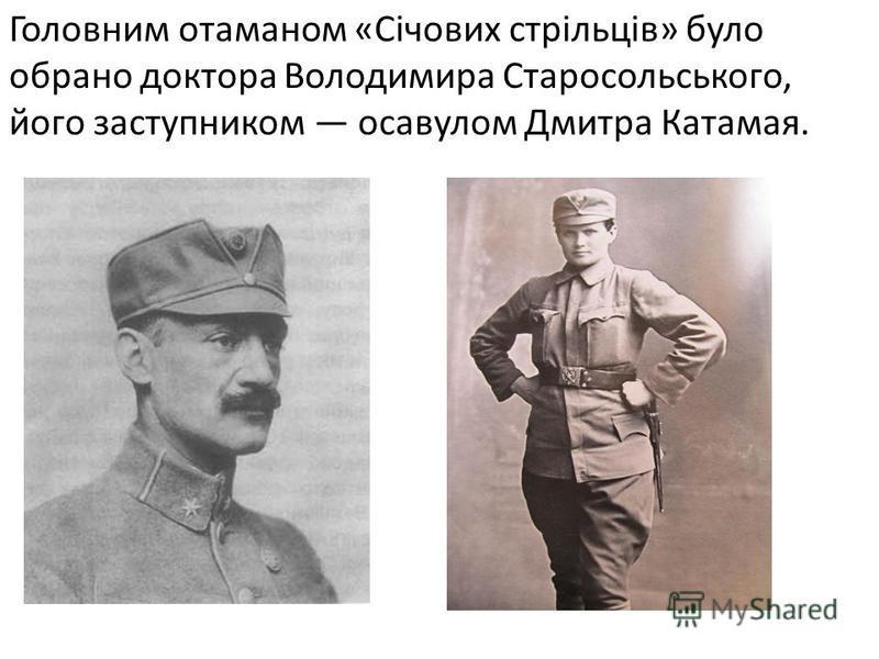 Зібрані з ініціативи українських діячів Галичини 18 березня 1913 р. збори проголосили створення українського військового товариства «Січові стрільці».