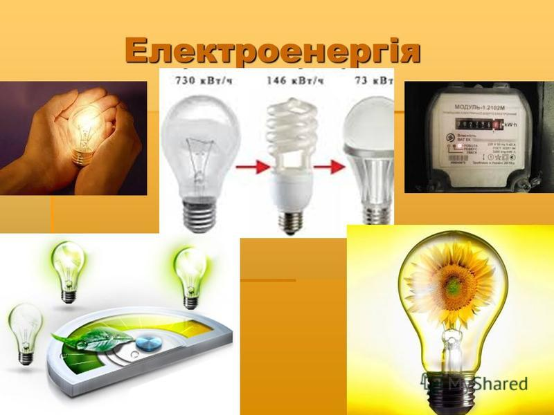Електроенергія Електроенергія