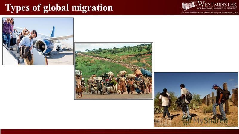 Types of global migration