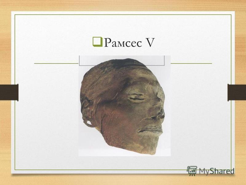 Рамсес V