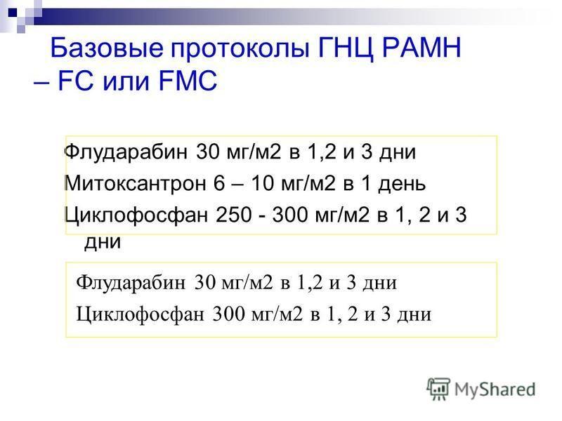 Флударабин + циклофосфан + мабтера: 90% общий ответ и половина больных достигает полной ремиссии!!!