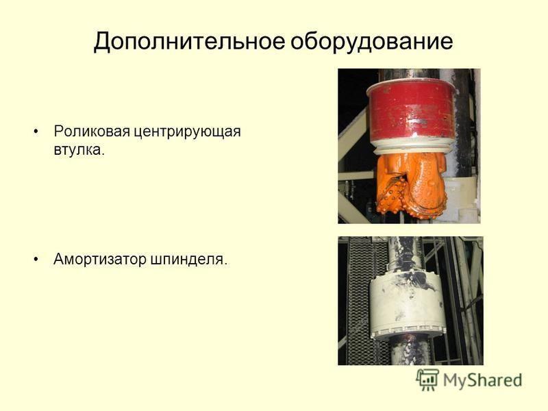 Дополнительное оборудование Роликовая центрирующая втулка. Амортизатор шпинделя.