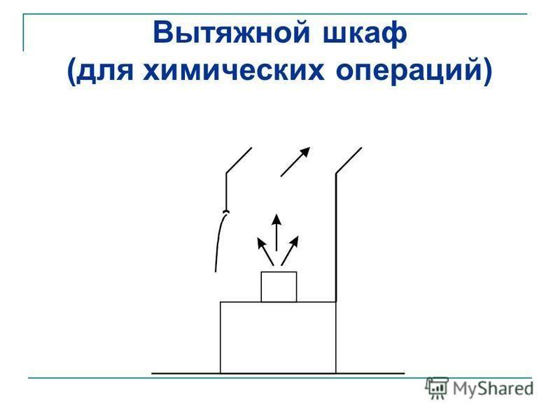 Вытяжной шкаф (для химических операций)