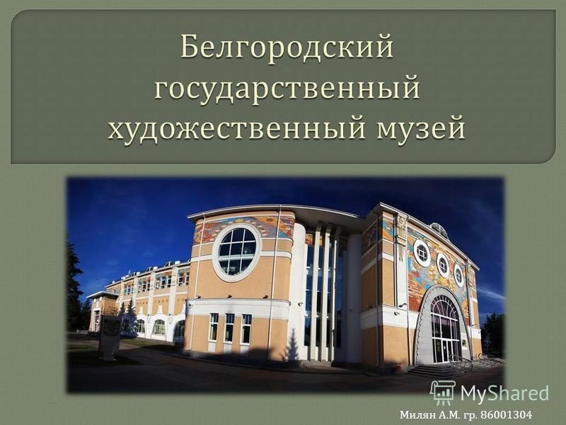 Милян А. М. гр. 86001304