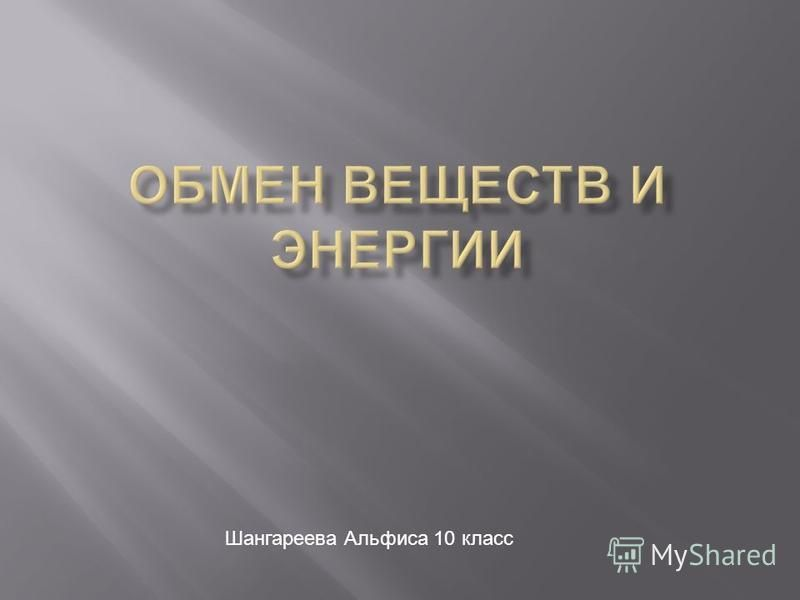 Шангареева Альфиса 10 класс