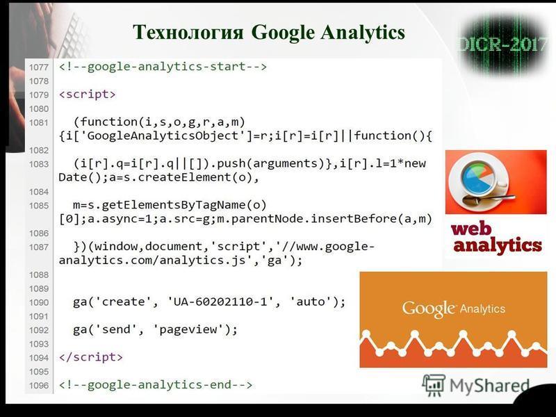 Технология Google Analytics
