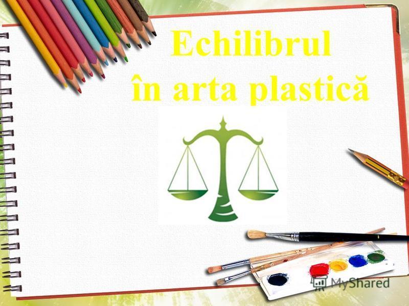 Echilibrul în arta plastică