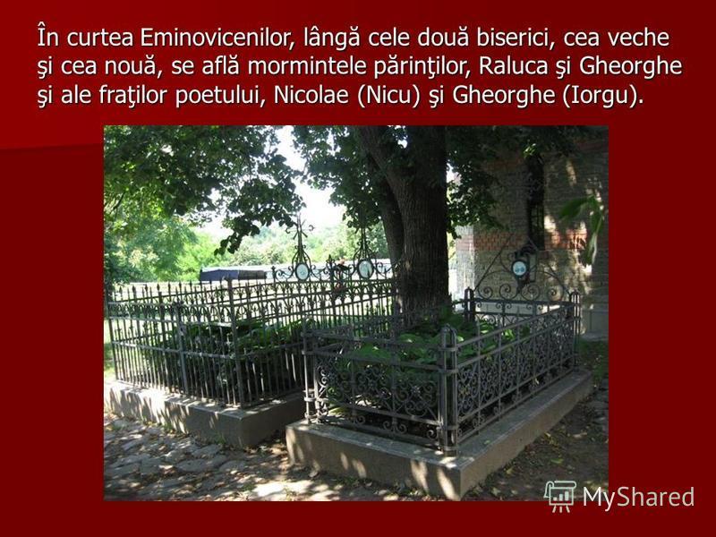 Situat în Parcul Copou, edificiul a fost deschis cu prilejul centenarului morţii poetului, în 1989. Cele două turnuri de la intrare, amintind de