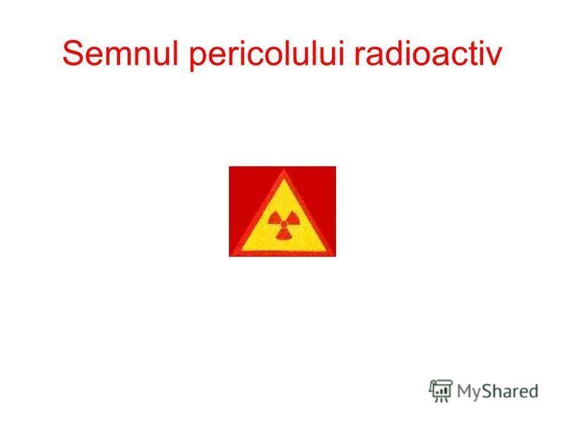 Semnul pericolului radioactiv