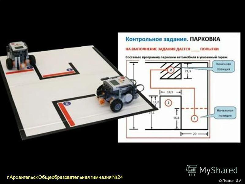 © Пашкин И.А. г.Архангельск Общеобразовательная гимназия 24