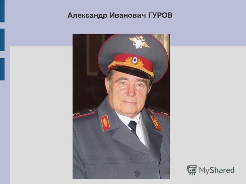 Александр Иванович ГУРОВ