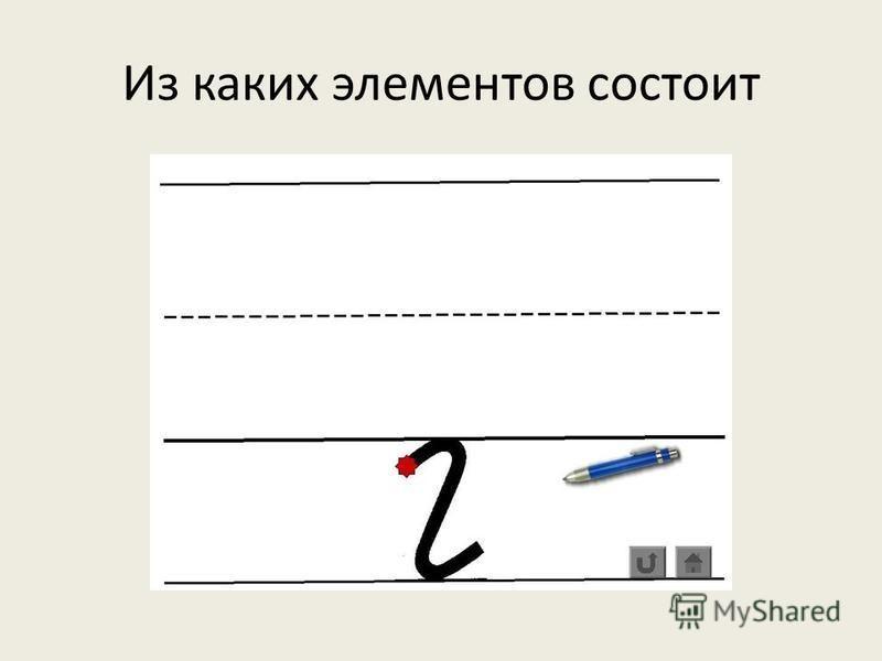 Сравните печатную и прописную строчную букву г