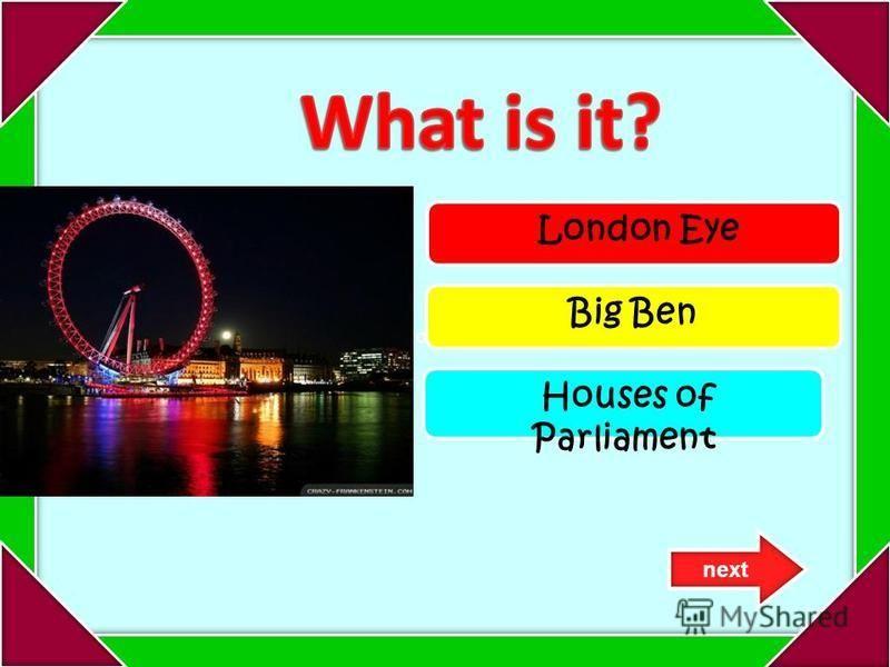 vgorodx.ru London Eye Big Ben Houses of Parliament next