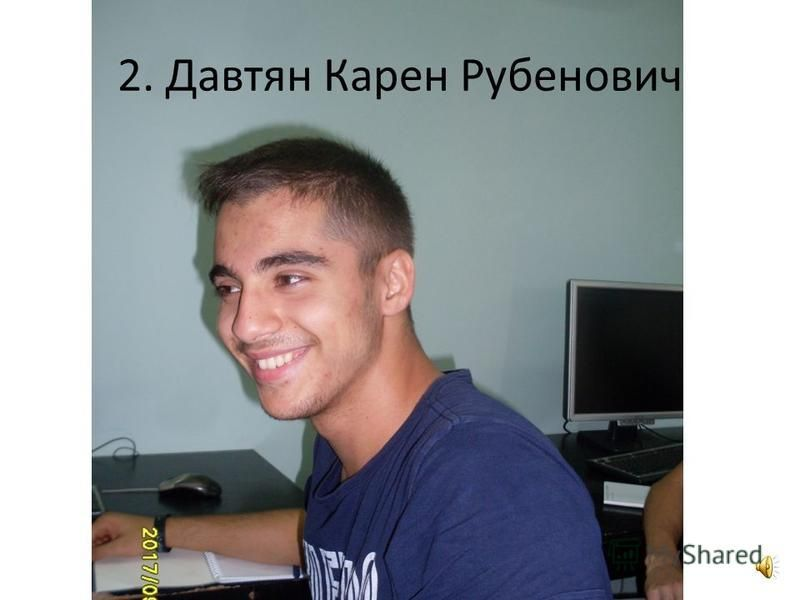 1. Гусак Ульяна Владимировна