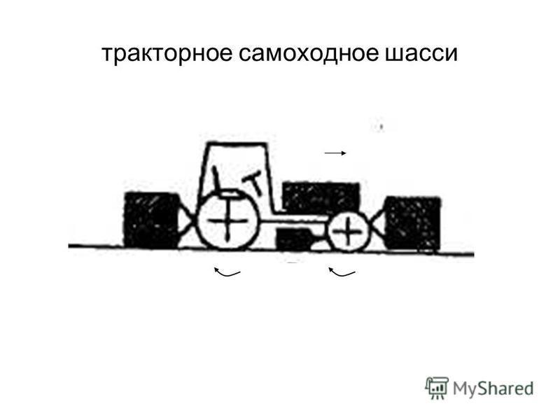 тракторное самоходное шасси
